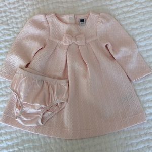 Janie and Jack Pink Dress with Bloomers